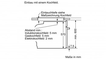 Bosch Herdset HND616LS60 best. aus: HEA5174S1 + NWP645CB2E