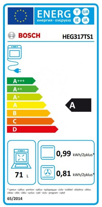 Bosch Herdset HND615MS60 best. aus: HEG317TS1 + NIF645CB1M