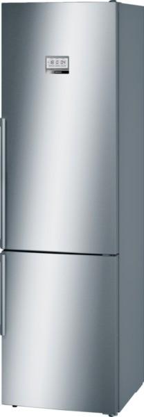 Bosch Kühl-/Gefrier-Kombination Edelstahl mit Anti-Fingerprint KGF39EI46