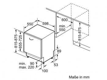 Bosch Serie | 6, Vollintegrierter Geschirrspüler, 60 cm SMV68TX02D
