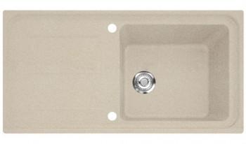 Franke iMG 611-100 97x50cm beige + Siebkorb 114.0177.631