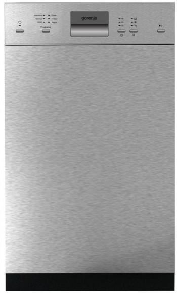 Gorenje Geschirrspüler teilintegriert GI51010X 45 cm A++