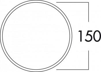 Compair Klima-E 150 Mauerkasten weiß/Edelstahl 4022039