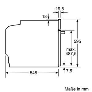 Siemens Backofen Edelstahl HB678GBS6