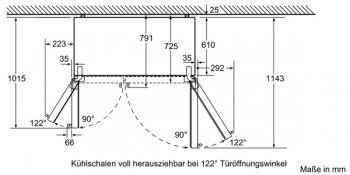 siemens set side by side k hlschrank ka92dai30 ks10zhc00 wifi dongle. Black Bedroom Furniture Sets. Home Design Ideas