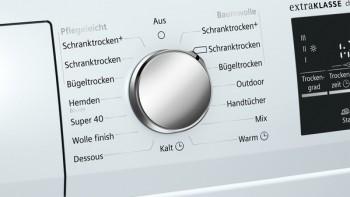 Siemens wärmepumpentrockner selfcleaning condenser wt45w491
