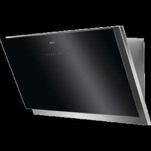 AEG Wandhaube Kopffrei schwarz 90 cm DVB5960HG