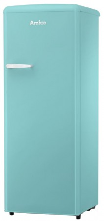 B-Ware Amica Vollraum-Kühlschrank im Retro Design A++ VKSR 354 150 T