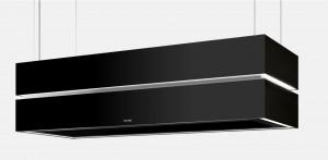 Berbel Deckenlifthaube Skyline Edge Sound BDL 135 SKE-S Umluft schwarz 1050176 inkl. 5 Jahre Garantie