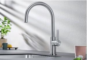 Blanco CANDOR Einhebelmischer Hochdruck metallische Oberfläche  523120