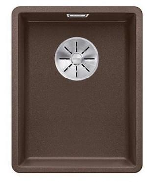 Blanco SUBLINE 320-F Granitspüle aus SILGRANIT® PuraDur® cafe  523421