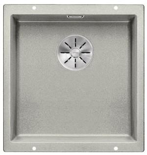 BLANCO SUBLINE 400-U Granitspüle aus SILGRANIT® PuraDur® perlgrau  523425