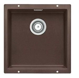 BLANCO SUBLINE 400-U Granitspüle aus SILGRANIT® PuraDur® cafe 523431