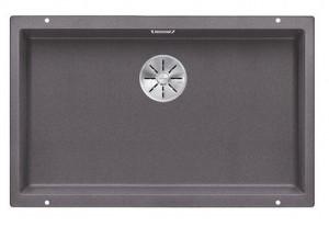 BLANCO SUBLINE 700-U Granitspüle aus SILGRANIT® PuraDur®  felsgrau 523443