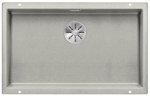 BLANCO SUBLINE 700-U Granitspüle aus SILGRANIT® PuraDur®  perlgrau  523445