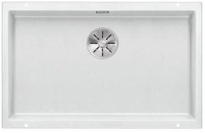 BLANCO SUBLINE 700-U Granitspüle aus SILGRANIT® PuraDur®  weiß 523446