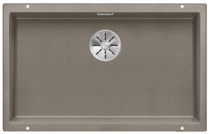 BLANCO SUBLINE 700-U Granitspüle aus SILGRANIT® PuraDur® tartufo  523449