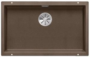 BLANCO SUBLINE 700-U Granitspüle aus SILGRANIT® PuraDur® cafe 523451