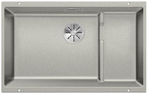 Blanco Granitspüle aus SILGRANIT® PuraDur® SUBLINE 700-U Level perlgrau 523455