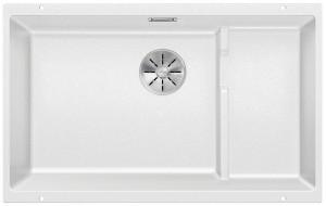 Blanco Granitspüle aus SILGRANIT® PuraDur® SUBLINE 700-U Level weiß 523456