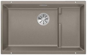 Blanco Granitspüle aus SILGRANIT® PuraDur® SUBLINE 700-U Level  tartufo 523459