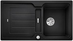 BLANCO  Granitspüle aus SILGRANIT® PuraDur® CLASSIC Neo 5 S anthrazit reversibel 524015 + SmartCut-Schneidbrett aus wertigem Kunststoff 232181
