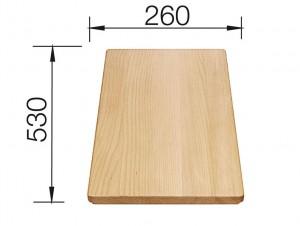Blanco Schneidebrett Holz Buche 218313