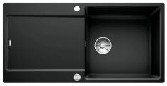 Blanco Spüle IDENTO XL 6 S-F Keramik PuraPlus® reversibel schwarz 522283