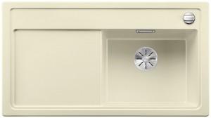 Blanco Silgranitspüle PuraDur® ZENAR 5 S-F Becken rechts jasmin 523870