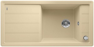 Blanco Spüle FARON XL 6 S SILGRANIT® PuraDur® reversibel champagner 524789