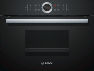 Bosch Kompaktdampfgarer schwarz CDG634BB1