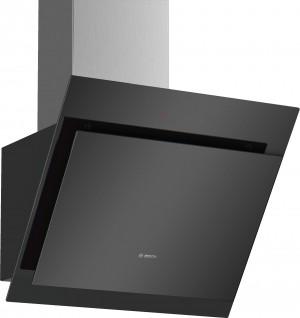 Bosch Wandesse Klarglas schwarz bedruckt 60 cm DWK67CM60