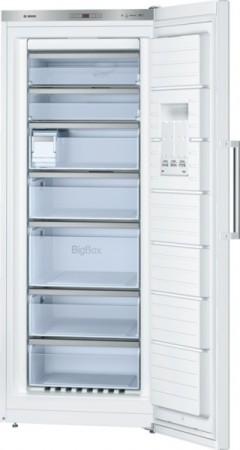 Bosch Stand-Gefrierschrank, NoFrost weiß GSN54MW40