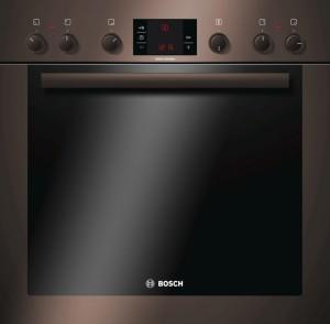 Bosch Einbauherd Java Braun HEB33D340