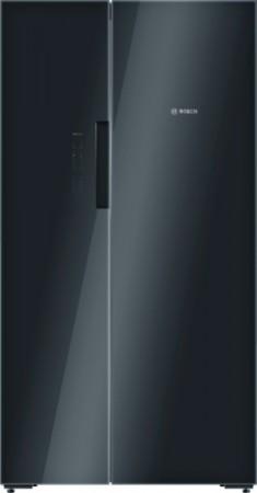 Bosch Side by Side ColorGlassEdition Schwarz KAN92LB35