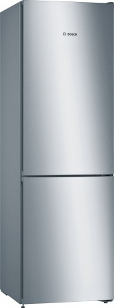 B-Ware Bosch Kühl-/Gefrier-Kombination NoFrost Türen Edelstahl Optik KGN36VL4A