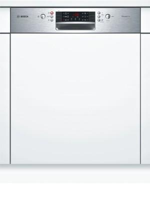B-Ware Bosch Silence Plus Geschirrspüler 60 cm integriert Edelstahl SMI46CS01E