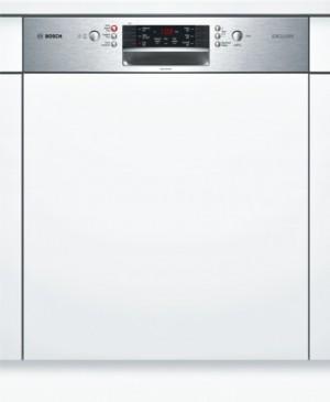 Bosch Geschirrspüler SuperSilence Edelstahl SMI46IS02D