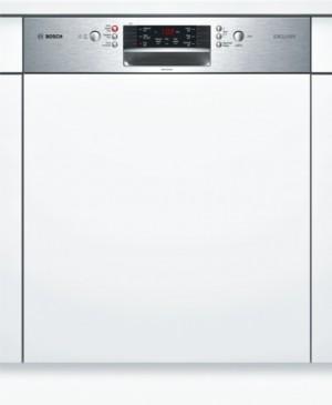 Bosch Geschirrspüler SuperSilence Integrierbar Edelstahl SMI46PS00D