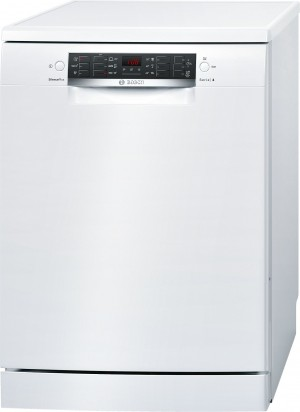 Bosch Silence Plus Geschirrspüler 60 cm Stand weiß SMS46CW01E
