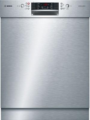 Bosch EXCLUSIV Geschirrspüler Unterbau Edelstahl SMU46HS00D