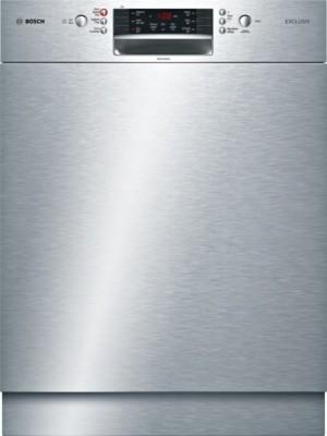 Bosch Geschirrspüler Exclusiv SuperSilence  Unterbau Edelstahl SMU46MS03D