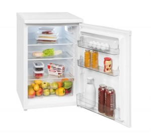EXQUISIT Kühlschrank Inoxlook KS 16-4.3 RVA++