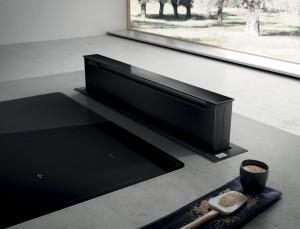 Elica PANDORA BL/F/90 Tischhaube schwarz 90 cm Umluft PRF0120979