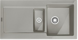 Franke Einbau-Keramikspüle reversibel Perlrau Matt MRK 651-100 1240380251