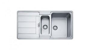 FRANKE Spüle Hydros-HDX 654 R Edelstahl 101.0303.642