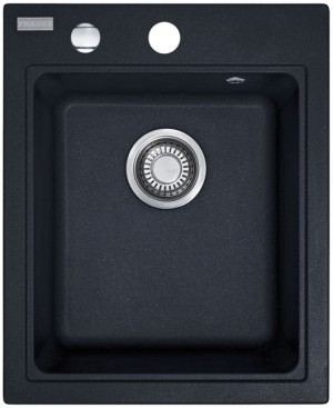 Franke MRG 610-42 425x520mm onyx + Siebkorb 114.0176.607