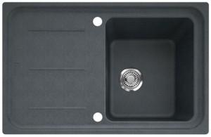 Franke IMG 611 78x50cm steingrau + Überlauf 114.0177.622