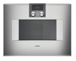 Gaggenau Mikrowellen-Backofen Serie 400 60cm Rechtsanschlag Bedienung unten BM454100