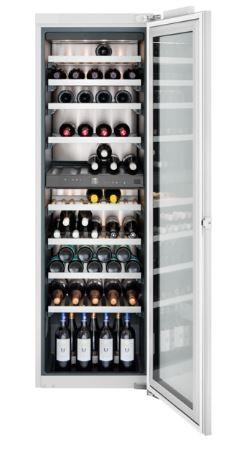 Gaggenau Weinklimaschrank Serie 200 Voll integrierbar, mit Glastür Nischenbreite 56 cm, Nischenhöhe 177.2 cm RW282260